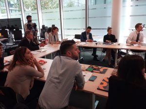 L'International Talent Academy ospiti di Vodafone UK